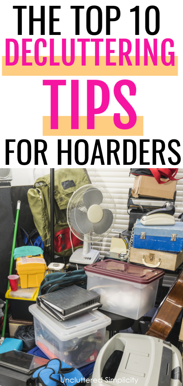 Learn why traditional decluttering methods do not work for hoarders. Here's how to help a hoarder declutter their home from someone who's worked with hoarders.