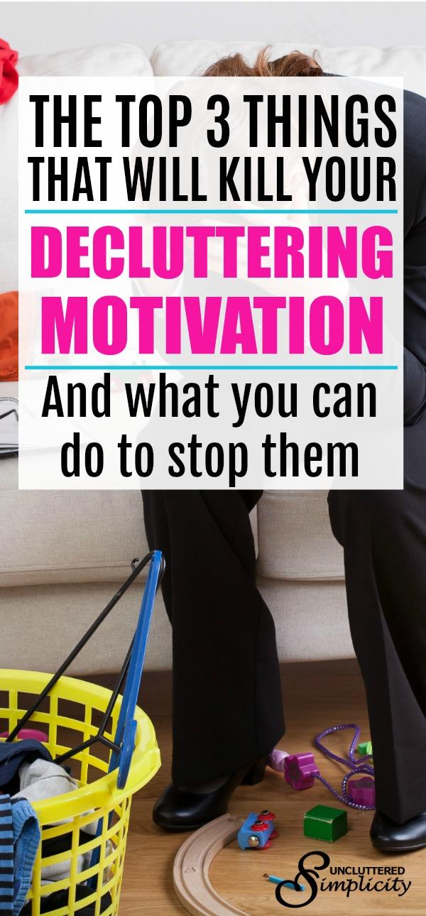 decluttering motivation | how to declutter | decluttering tips | decluttering for busy people | #declutter #decluttering #encouragement #clutterfree