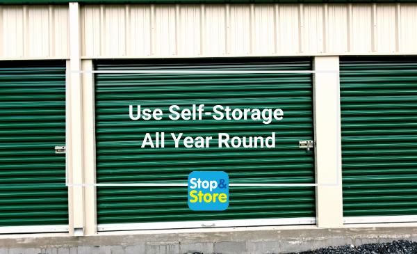 Great Yarmouth Use Self Storage All Year Round