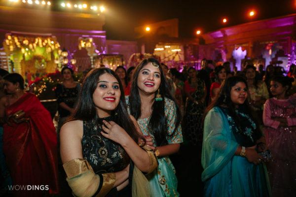 wedding guest in garwali wedding