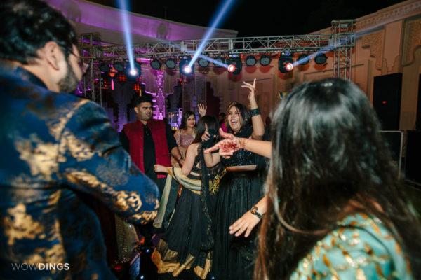 dance party in garwali wedding