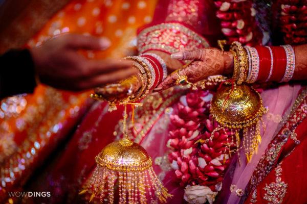 haldi in garwali wedding