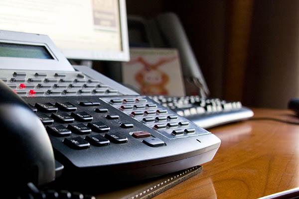 Telefonanlage-Festnetztelefonie