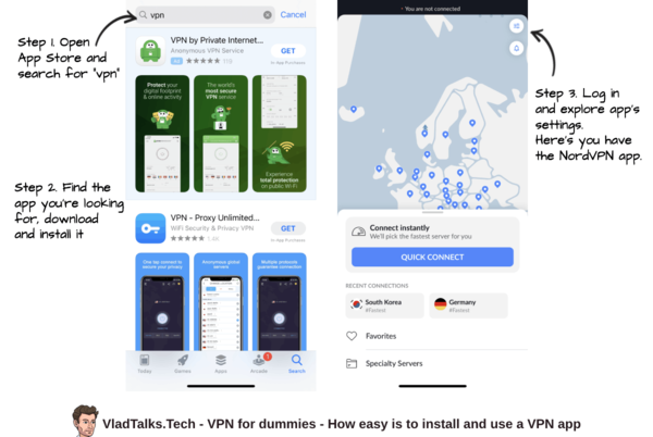 VPN for dummies - how easy is to install NordVPN