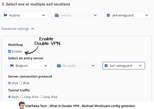 What is Double VPN - Mullvad multihop