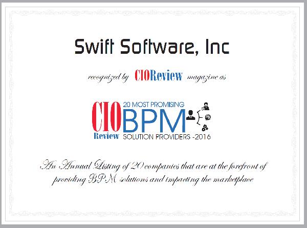 JobTraQ CIO Review Top 20 BPM Providers