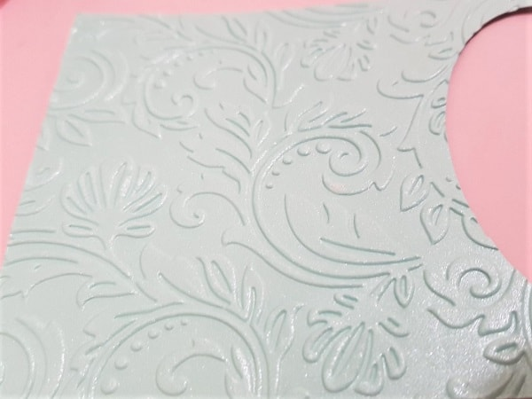 Embossed Cardstock using the Sizzix Big Shot