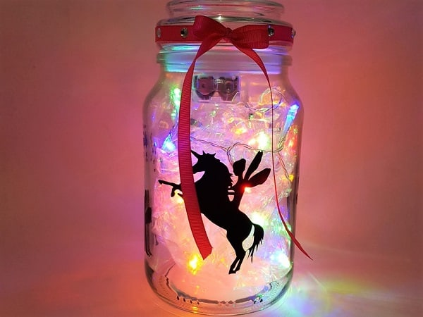 Main picture of the fairy light jar