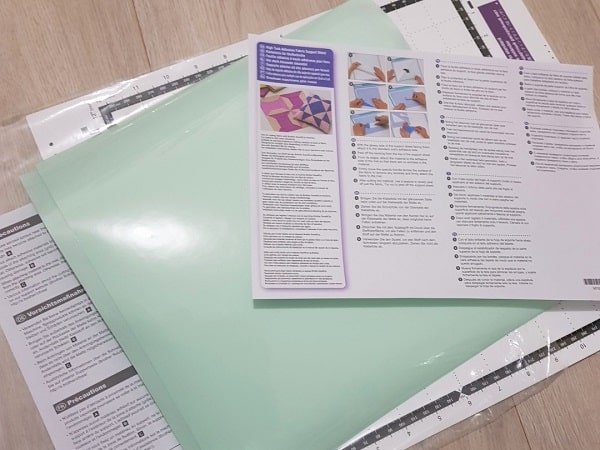 High tack fabric sheet for your Scan N Cut