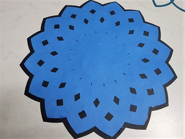 Base layer and Layer 3 of the 3D Mandala