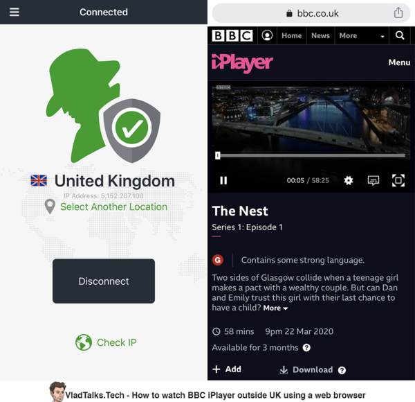 How to watch BBC iPlayer abroad using a web browser