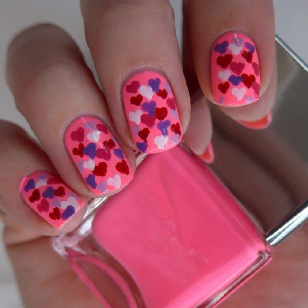Mini Neon Hearts