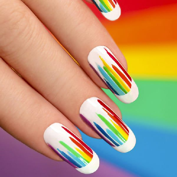 Road Rainbow Pattern