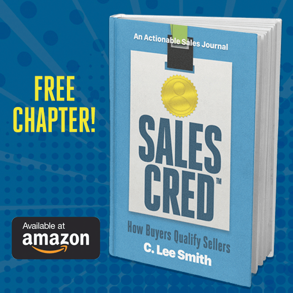 Get a Free Chapter of SalesCred - The Sales Credibility Book