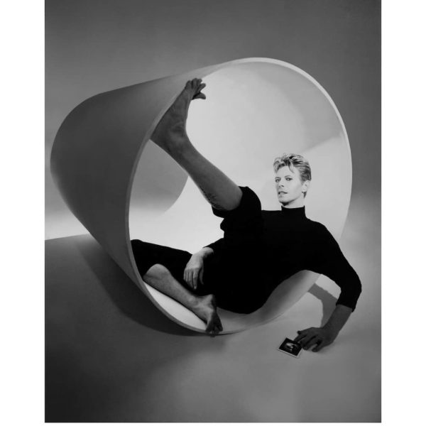 Kate Garner photographs David bowie available at zebra one gallery