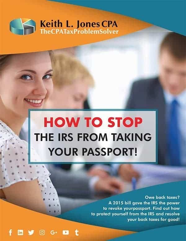 Stop IRS From Taking Your Passport