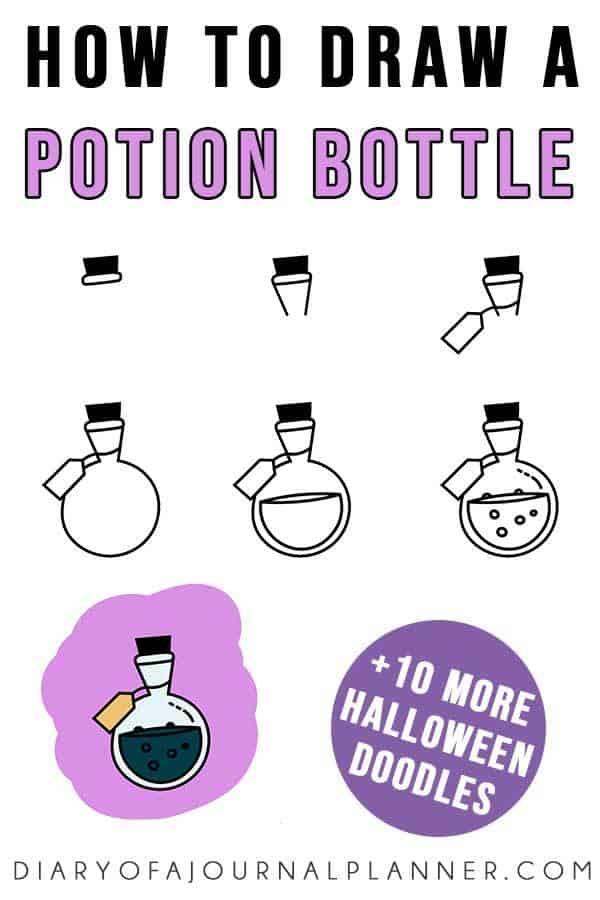 Potion bottle doodle