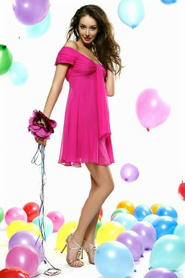 Мода платья весна-лето 2013
