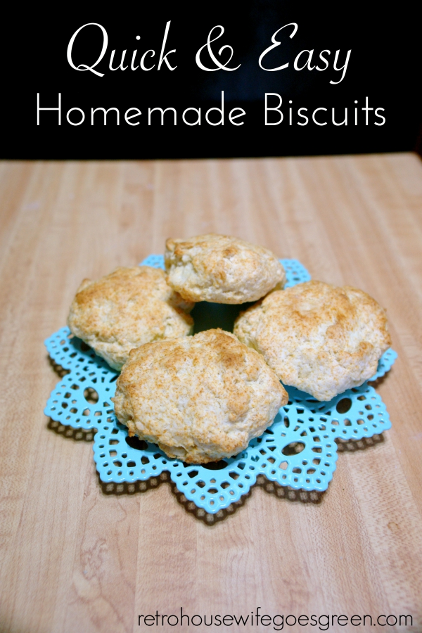 Quick and Easy Homemade Biscuits