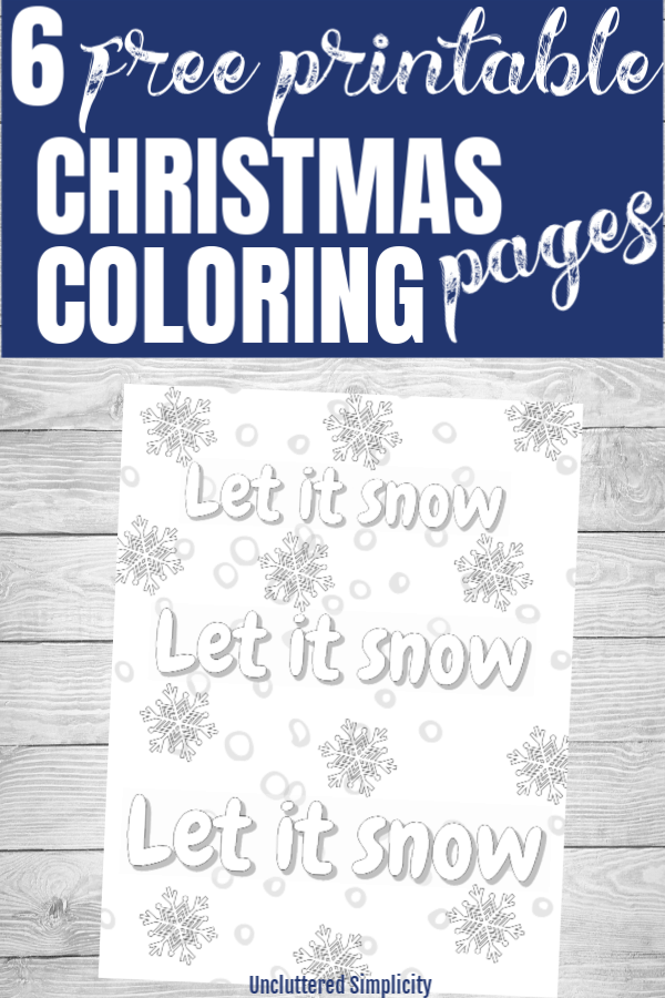 Free Printable Christmas Coloring Pages for Adults and Teens