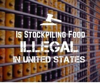 stockpiling illegal