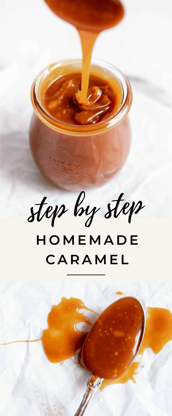 We're breaking down exactly how to make homemade caramel thats creamy, dreamy, and delicious drizzled over pretty much anything :)