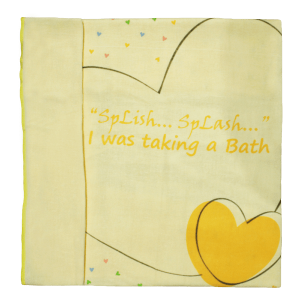 Velona Absorbent baby Towel with Print