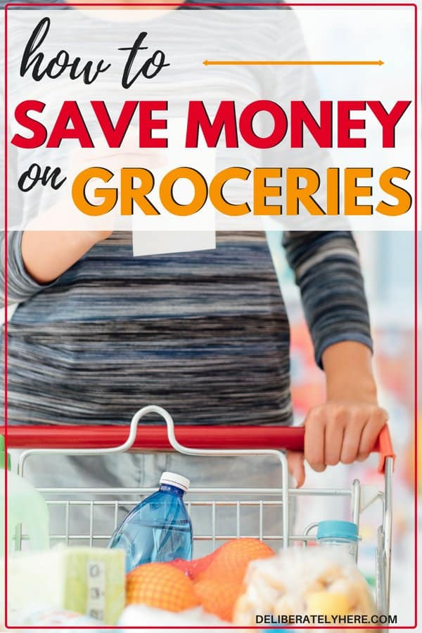 Easy ways to save money on groceries. Save money every month by cutting things off of your grocery budget. Here's how to stay in your grocery budget, save money on food and create more room in your budget for other things.