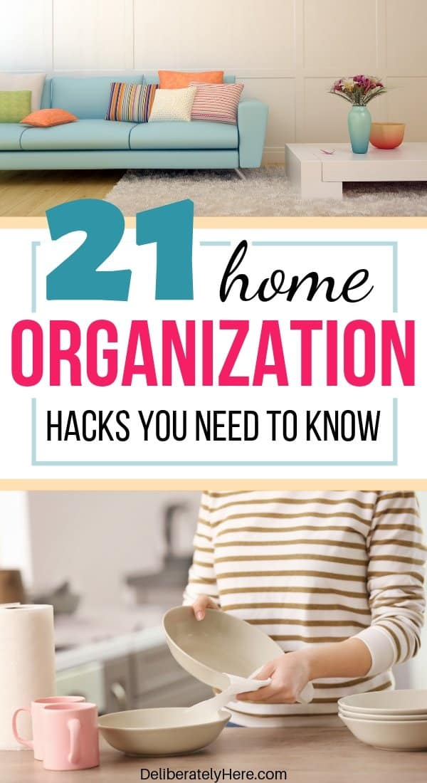 21 easy home organization ideas to help you create an organized home on a budget. Home organization and decluttering tips to start today. DIY home organization hacks for an effortlessly organized home. Habits of extremely organized people - how to get organized when you're messy. Easy organization ideas for the home.