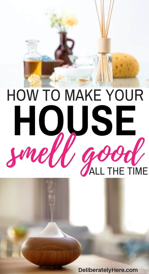 4 ways how to make your house smell good all the time. Make your house smell good naturally. Natural scents to make your house smell good. Make your house smell good with aromatherapy, essential oils, and reed diffusers. Get the bad smell out of your house with these natural remedies. How to make your house smell good all the time. DIY ways to make your house smell amazing.