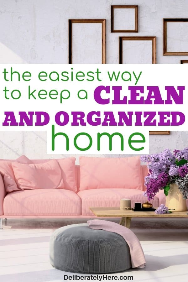 How to organize your home when it's a mess. How to keep a clean and organized home. The easiest way to organize your house fast. Declutter and organize your home fast with these tips. Free home organization course to help you clean and organize your home. How to clean your house when you're exhausted. How to organize when you don't know where to start.