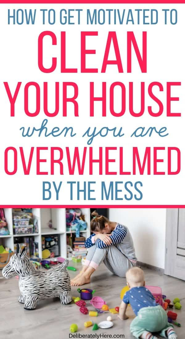How to get motivated to clean your house in one day when you're overwhelmed by the mess. Cleaning tips for busy moms to overcome the clutter. How to create a clean and organized home in one day. How to clean your house like a professional when you don't know where to start. Easy cleaning ideas for moms. The best cleaning hacks for busy moms. Cleaning tips for overwhelmed moms. How to keep your house clean with kids.