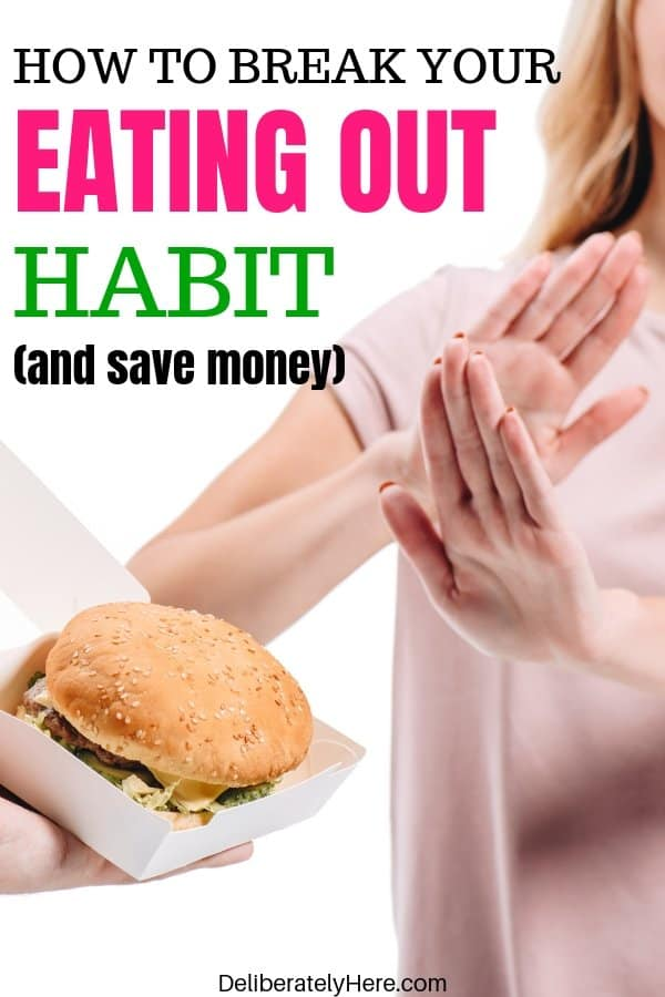9 tips to help you break your eating out habit How to stop eating out so much. 9 Tips to help you stop eating out so much. 9 tips to help you break your eating out habit. How to break your eating out addiction and save money. How to save money by eating out less. 9 tips to stop eating out so much. tips to help you stop eating out and start eating in. How to make meals at home.