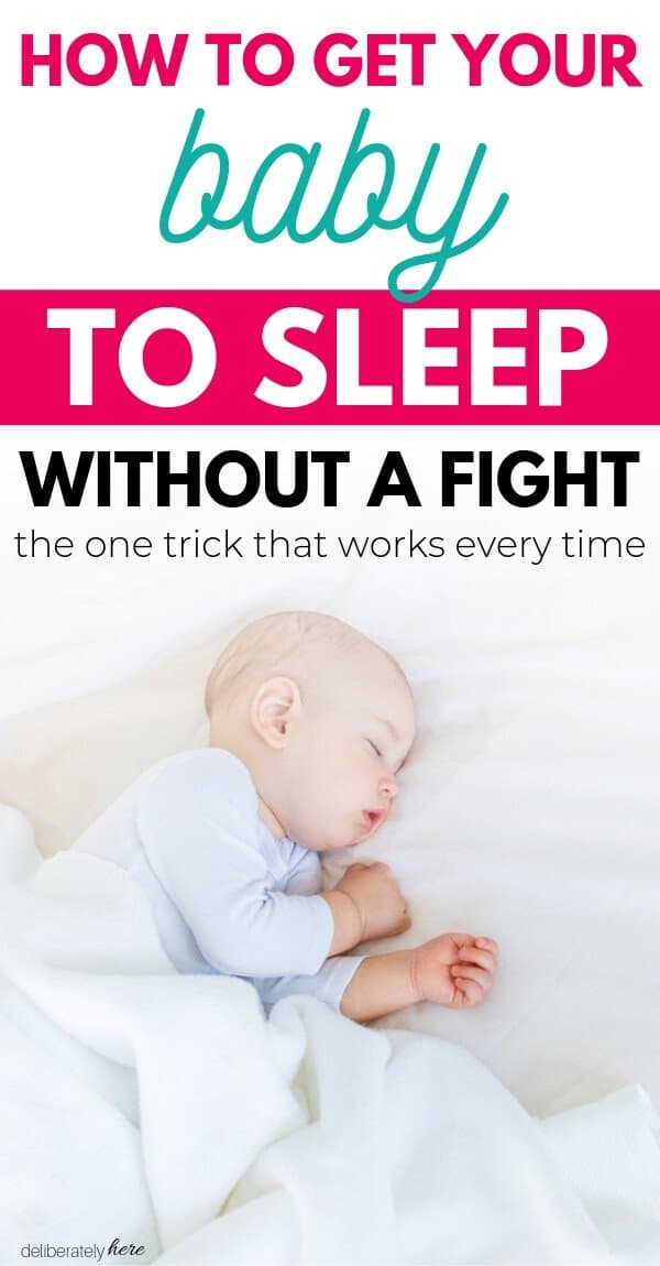 how to get your baby to sleep without a fight baby sleeping peacefully by himself on bed