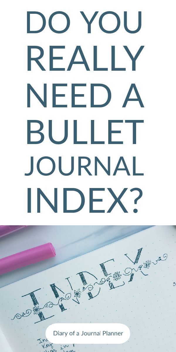 Learn how to set up a bullet journal index, the pros and cons of an index and whether you really need to use it in your bullet journal planners