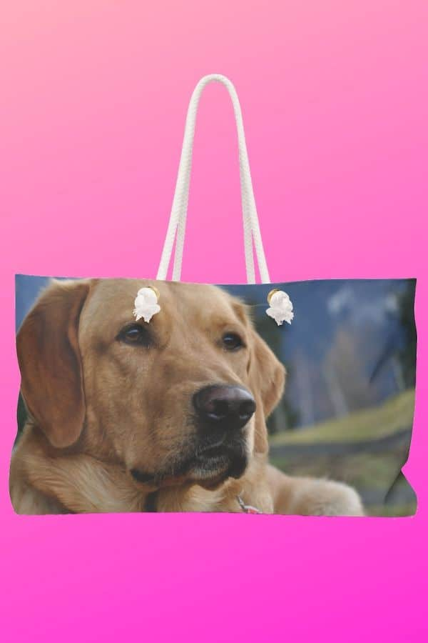 Labrador Retriever Weekender Bag
