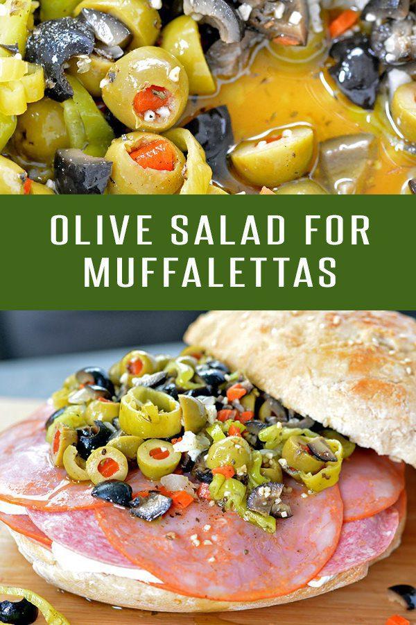 Muffaletta Olive Salad