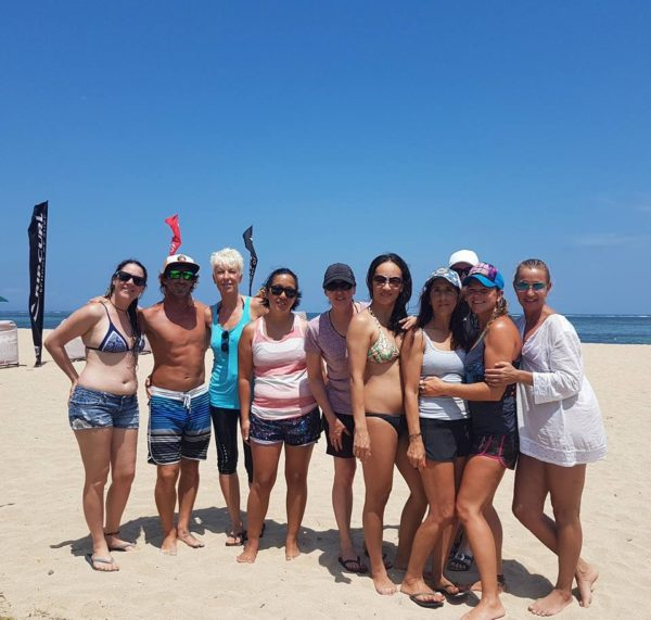 Stand Up Paddle Yoga Retreat Bali