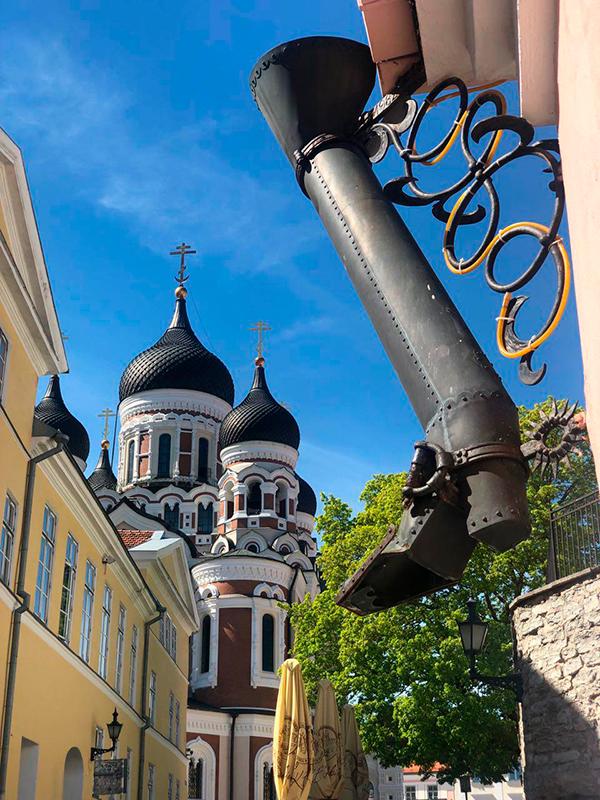 улица Длинная нога (Pikk jalg), Таллин