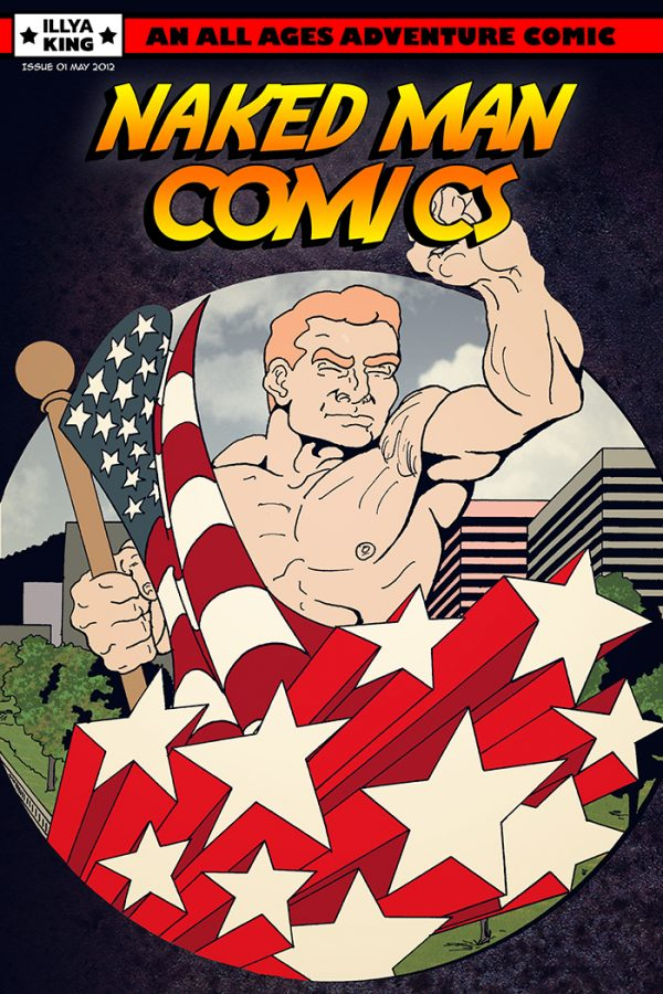 Naked Man Comics #1 Cover
