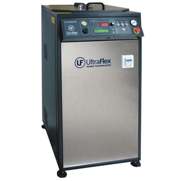 EasyCast-D induction dental casting machine. Casting precious and non-precious dental alloys.