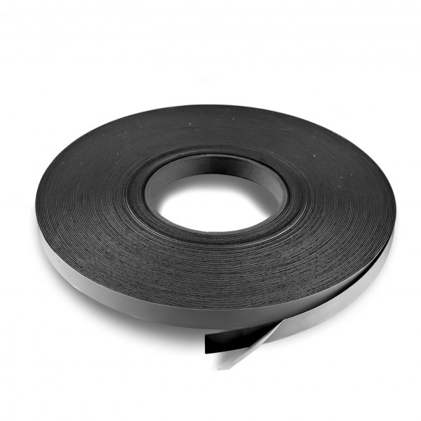 ".5"" Adhesive Magnetic Tape 60 mil Strip Roll"