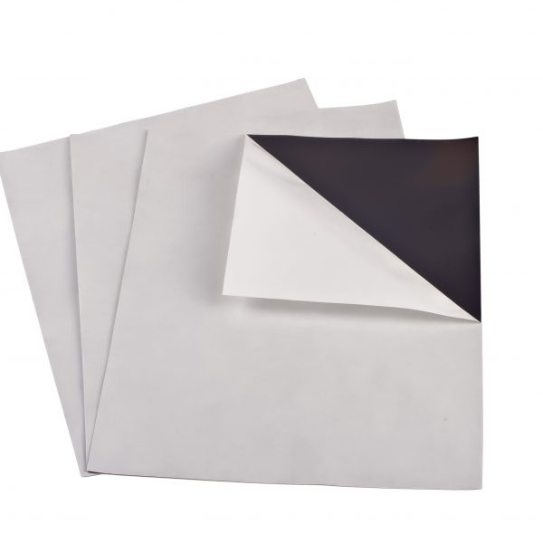 "15 mil 5"" x 7"" Indoor Adhesive Magnet Sheets"