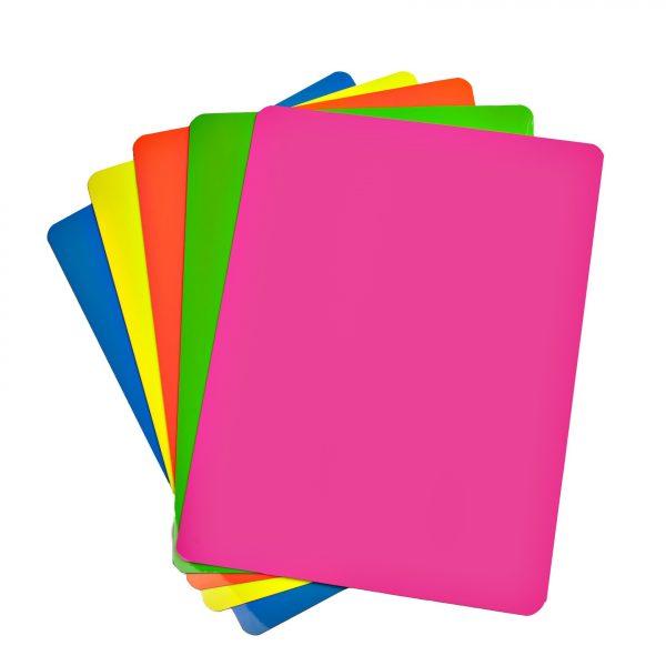 "2"" Fluorescent Neon Dry Erase Magnet Shelf Labels"
