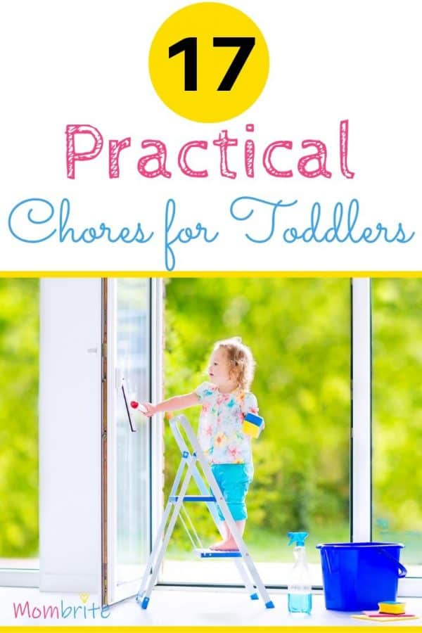 Toddlers love to help and pitch in with household jobs. Here is a list of fun and practical age-appropriate chores for toddlers to do that will help them grow to be responsible adults.
