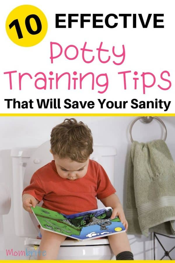10 Effective Potty Training Tips