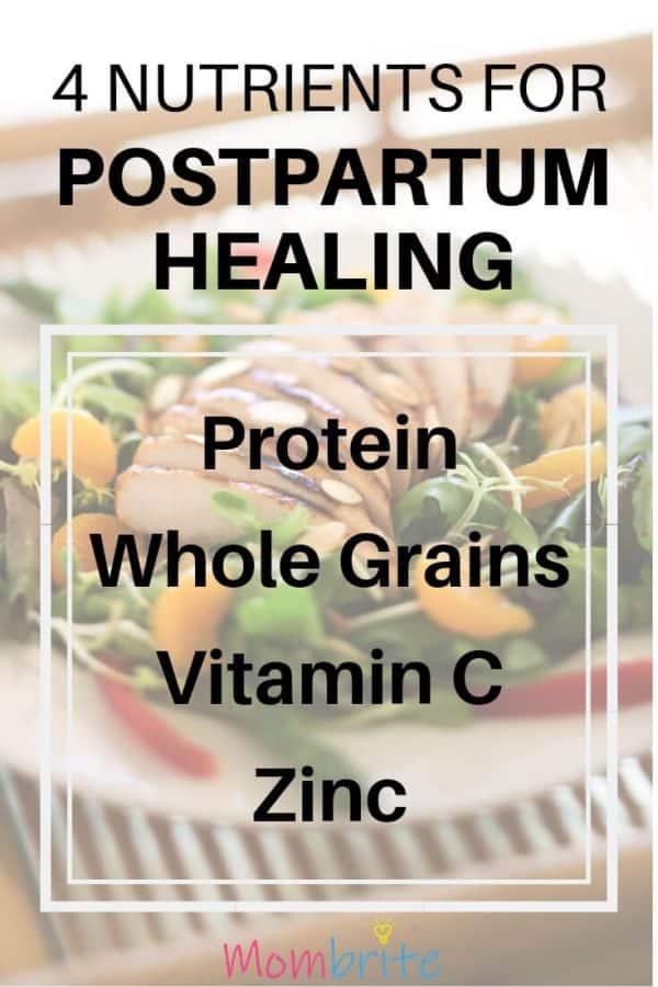 4 Nutrients for Postpartum Healing