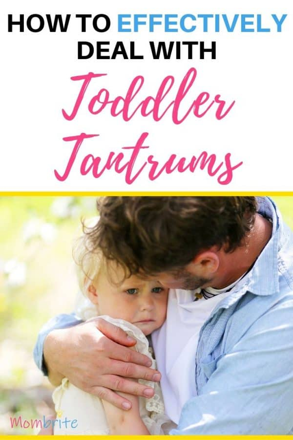 Is your little one throwing tantrums? Learn how to prevent the toddler tantrums in the first place and how to deal with them once they occur.  #mombrite #toddlertantrums