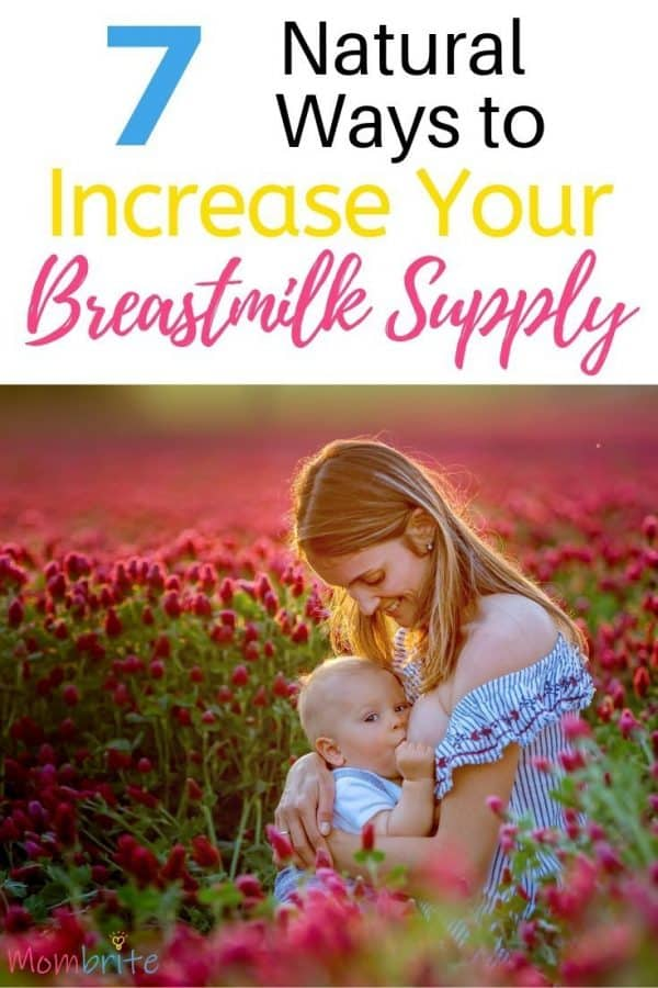If you are experiencing low milk supply, you may be worried that your baby is not getting enough to eat. Here are ways to increase your breastmilk supply naturally for your baby.