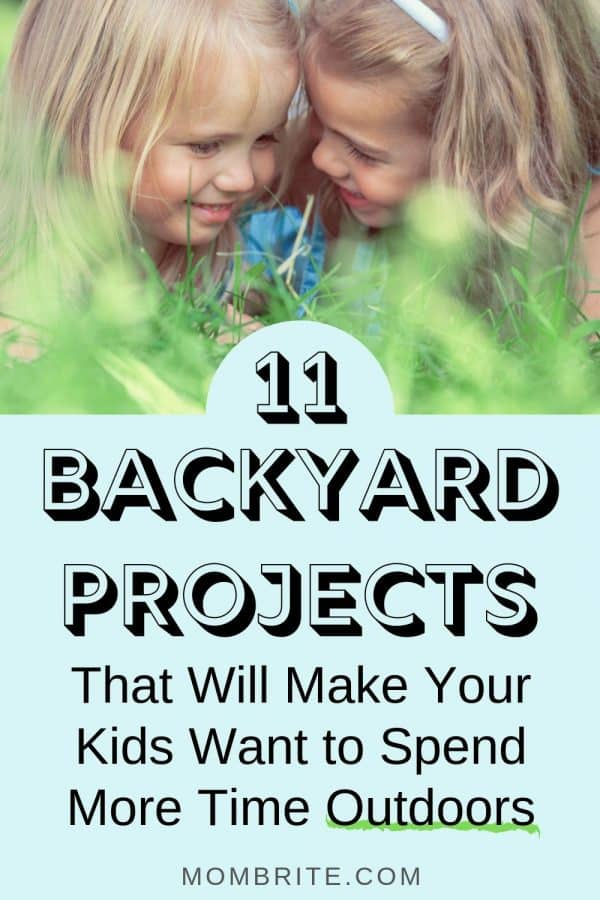 backyard projects for kids